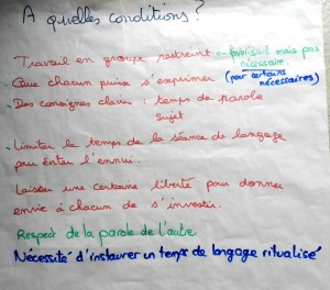 Affiche conditions